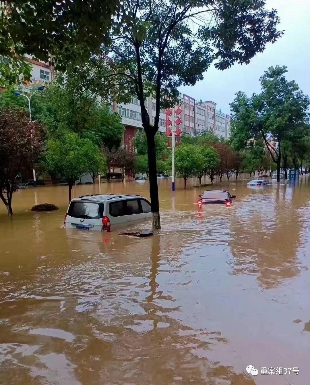 陕西勉县突降暴雨:城区积水最深达90厘米 一失联村庄已恢复通讯