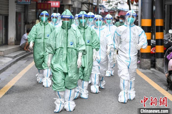 湖南张家界永定区开启第11轮全员核酸检测