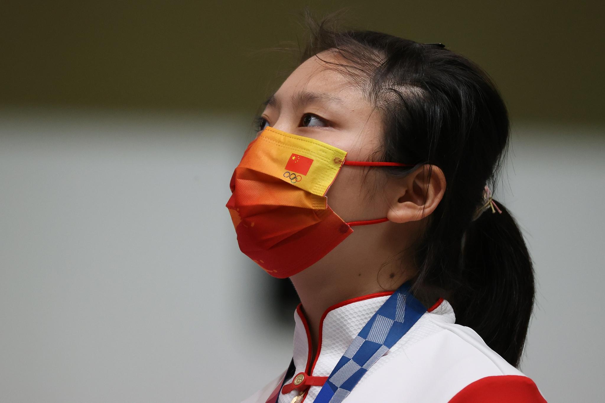 姜冉馨:金牌扔行李箱 现在也没觉得自己是奥运冠军