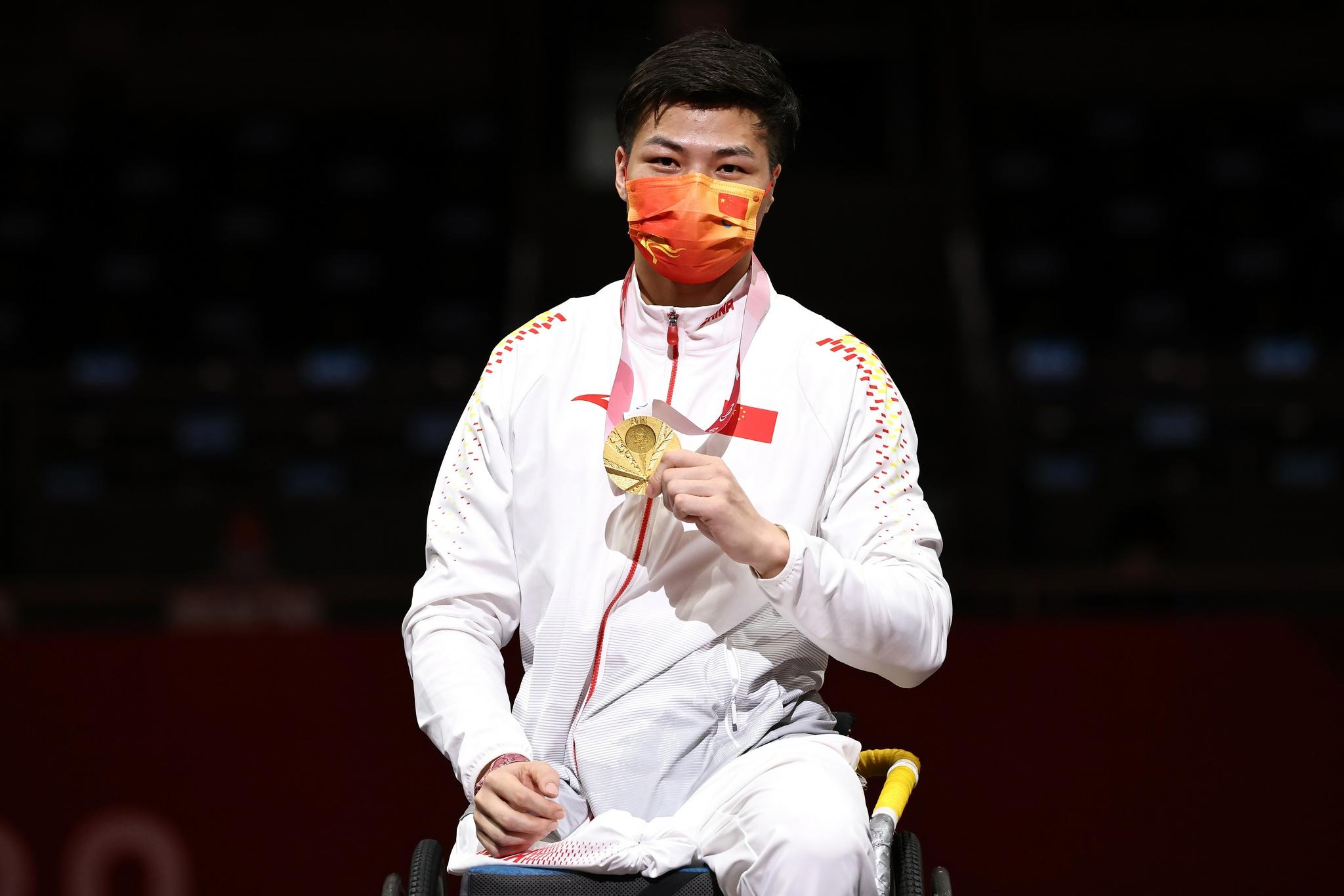 稳居金牌榜奖牌榜第一 刷新多项纪录 这就是中国残奥选手