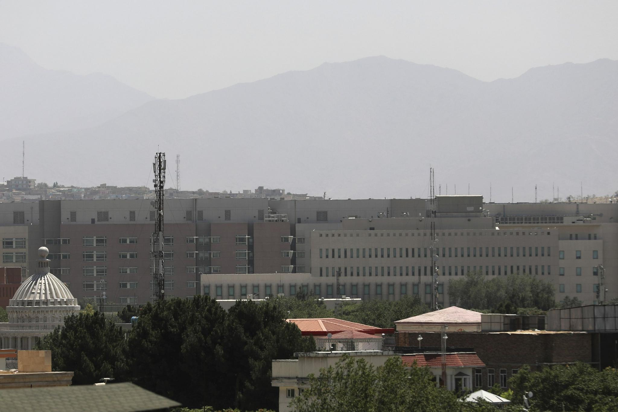 CIA在喀布尔的基地,炸了