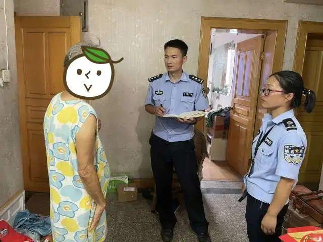 杭州一老人报警家里漏水 民警迅速出警帮助解决问题