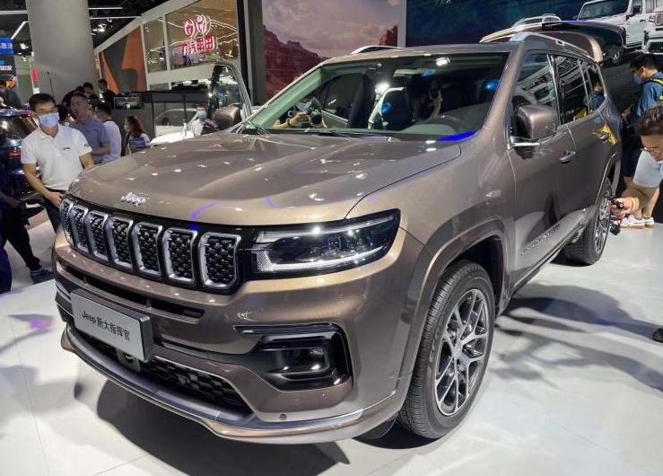 四驱还不到30万的合资中大型SUV,Jeep大指挥官能否威胁途昂?