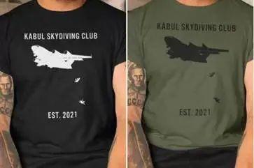 """""""塔利拜登"""" T恤,谁干的?"""