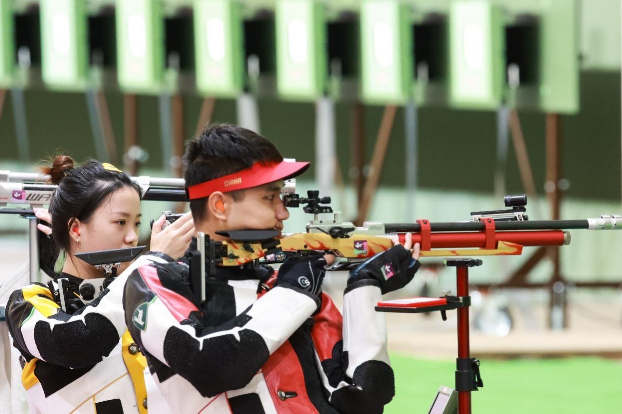 奥运冠军杨倩:封闭备战不难 但不能喝奶茶太难