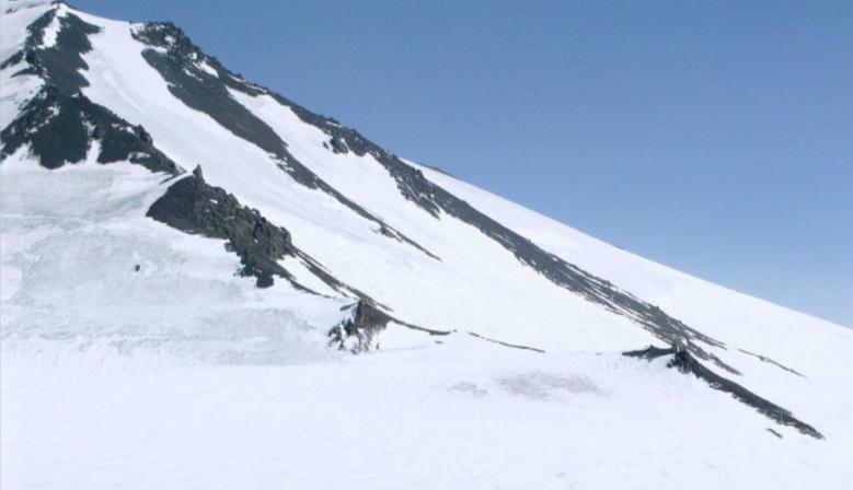 透明梦柯冰川,纯白的梦幻世界