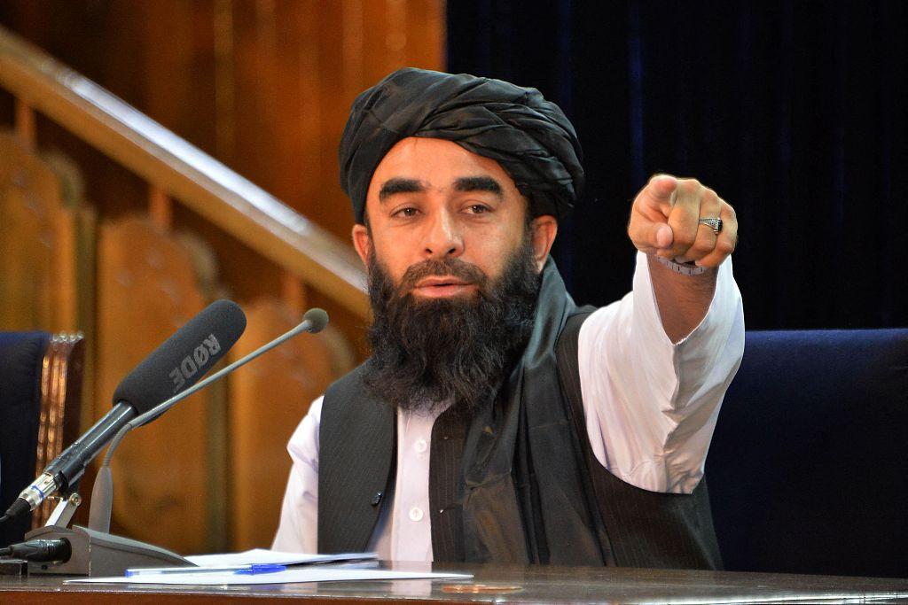 塔利班发言人:在新政府领导下 阿富汗宪法或被修改
