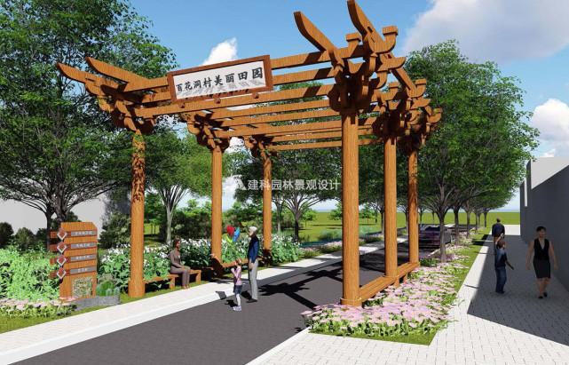 特色精品村规划案例 建科园林景观