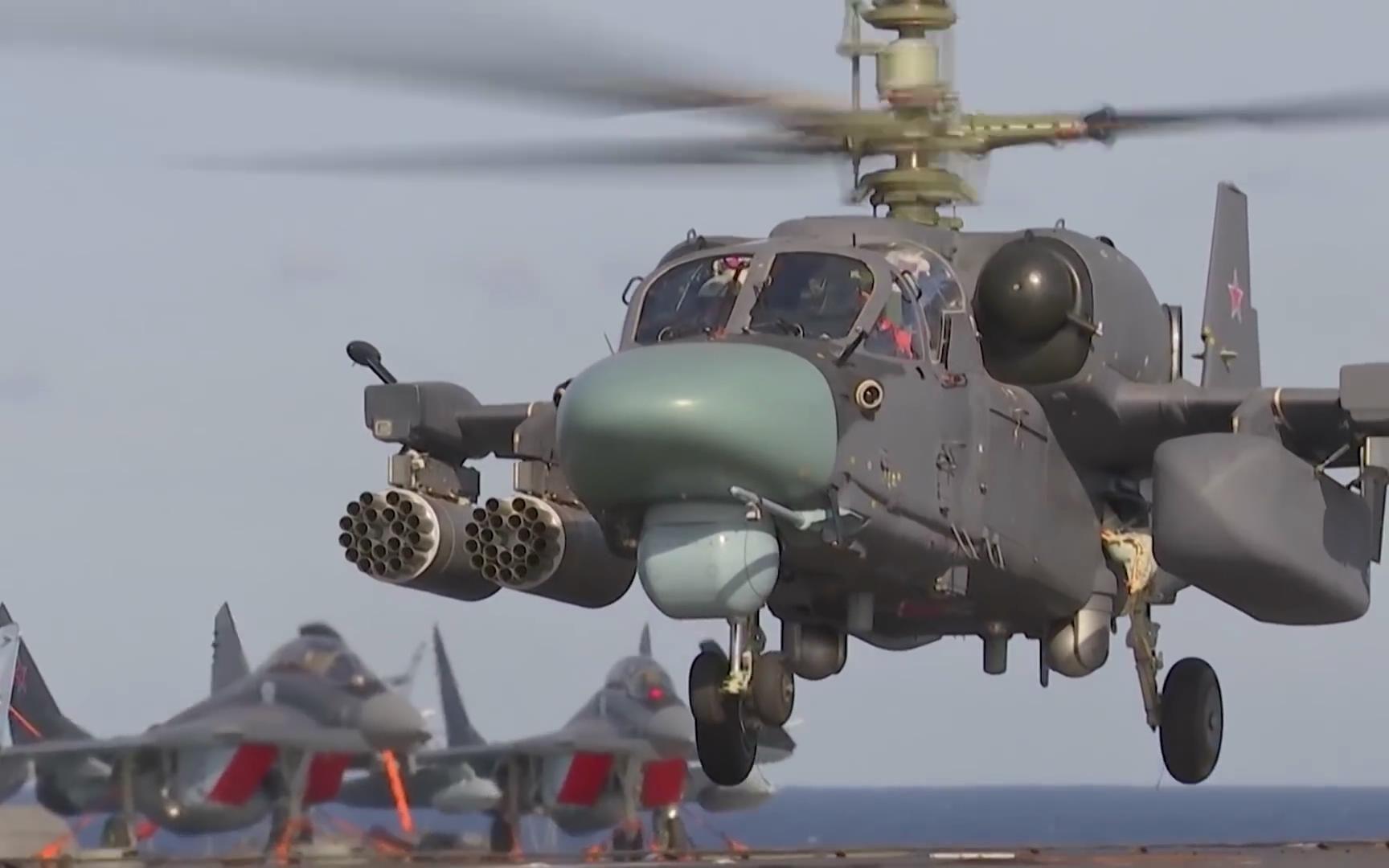 中国需要俄制卡-52K舰载武直吗?兼容性和售后堪忧