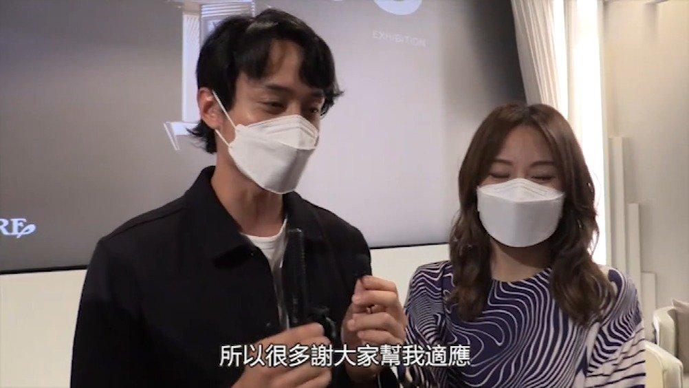 鄧麗欣(Stephy)和劉俊謙昨晚出席電影分享會……
