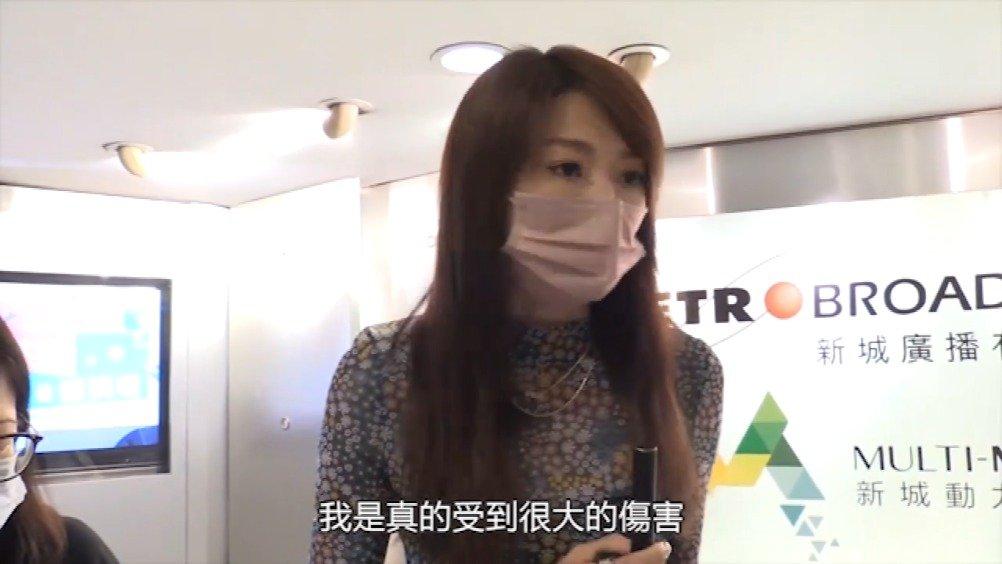連詩雅(Shiga)昨日到電台宣傳新歌《別放棄治療》……