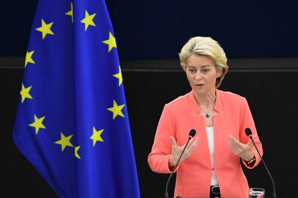"""欧盟委员会主席发表年度""""盟情咨文"""" 促欧盟加强军力"""