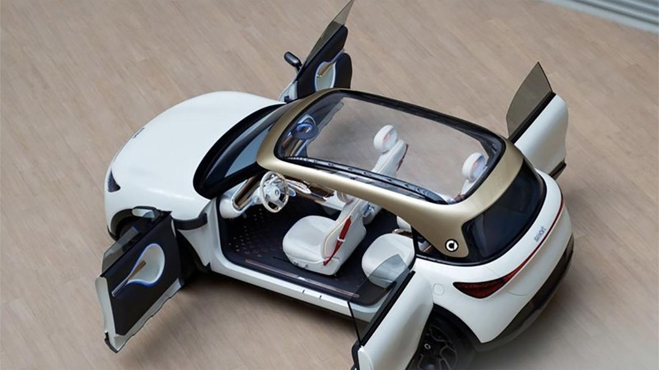 视频:奔驰与吉利合作,造新款smart,据说比五菱宏光更酷炫