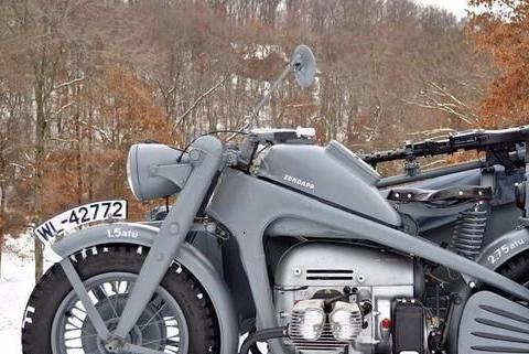 神奇的军用小三轮:二战德军曾装备上万辆,宝马倾情打造!