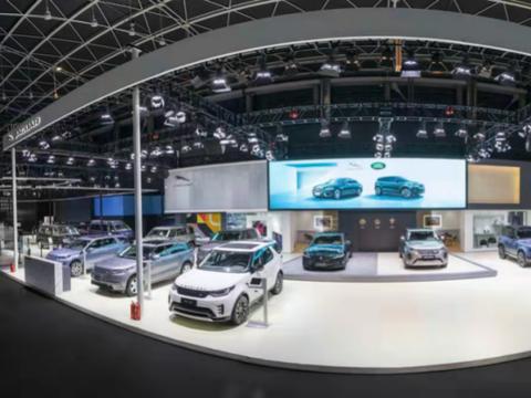 捷豹路虎携多款重磅车型亮相2021石家庄国际汽车博览会