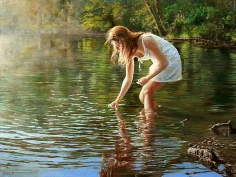 荷兰艺术家拉尔夫海因恩人体油画作品欣赏