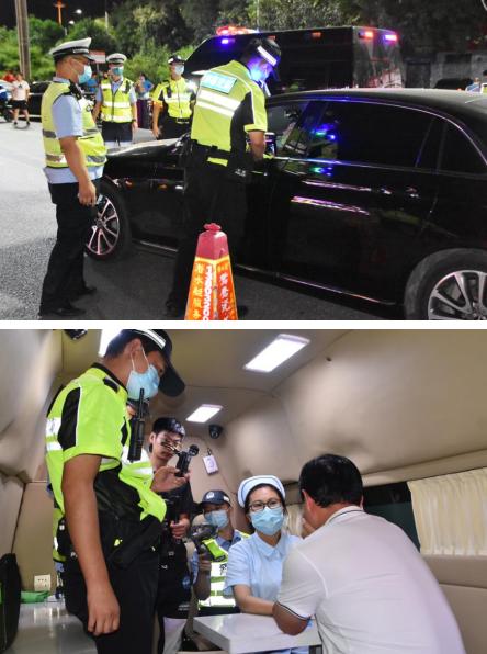 """河北邯郸:启动""""警医联动 异地用警""""打击酒醉驾"""