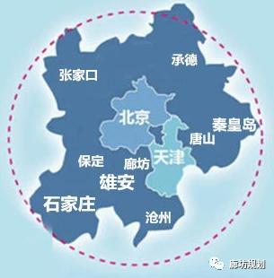 遥感卫星看廊坊市三十年城市扩张演变