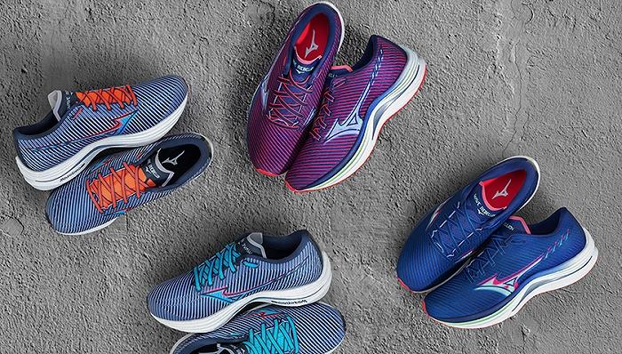 一周运动新品   美津浓发布高性能速度跑鞋,迪桑特跨界联名兰博基尼