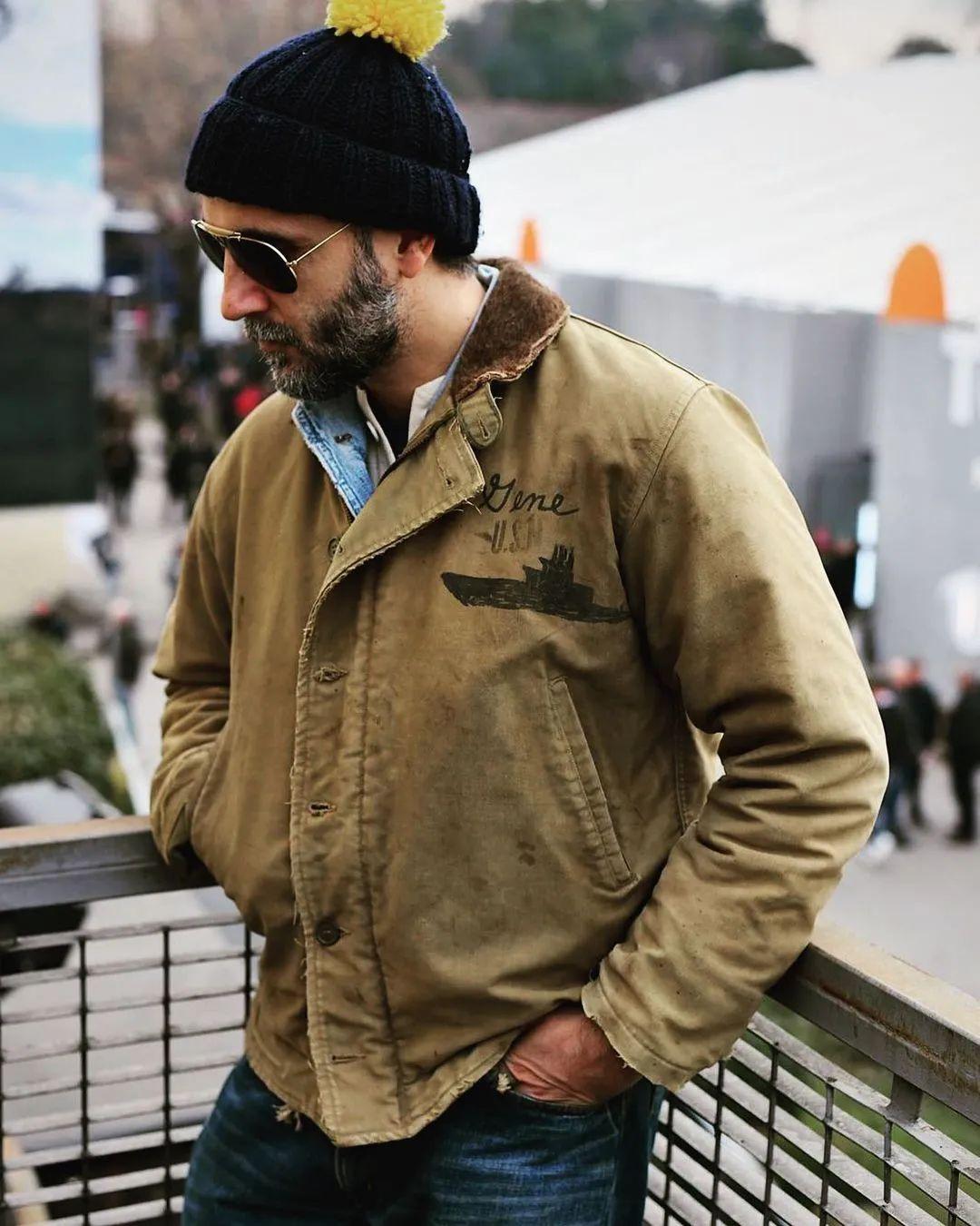 Vintage军品中的宝藏 甲板服为什么是男人的浪漫?