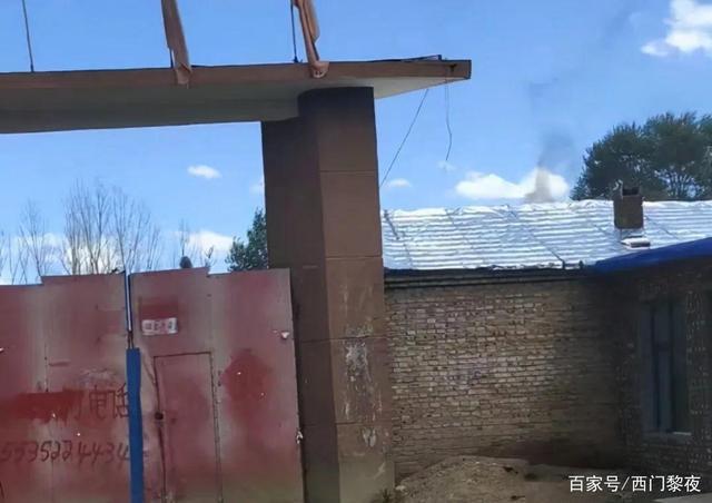 大同新荣区破鲁堡乡一企业非法违规生产引环境恶化