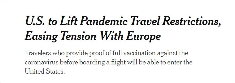 """美国终于""""默认""""中国疫苗"""