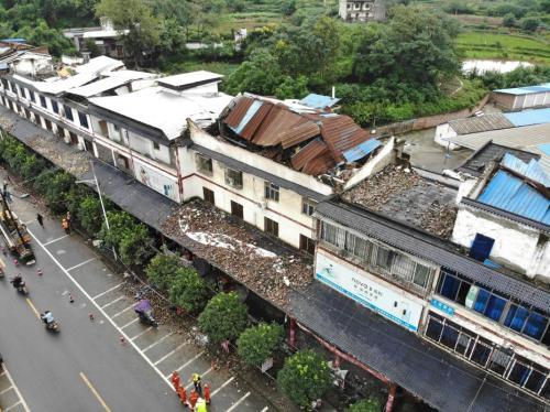 四川泸县全面启动房屋鉴定工作 其他工作有序开展