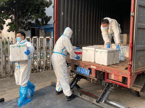 向疫而行,社区电商向扬州运送物资182吨