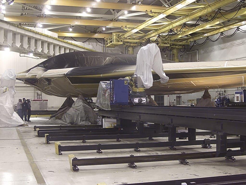 美高官:已有5架B-21新型隱形轟炸機正在生產中