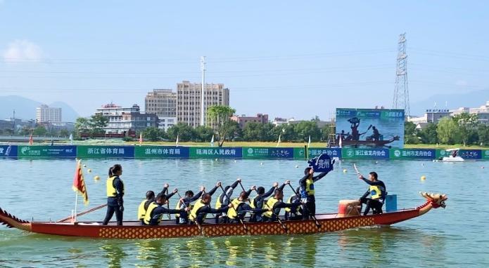 全运会群众项目龙舟首日比赛 贵州2银1铜表现不俗