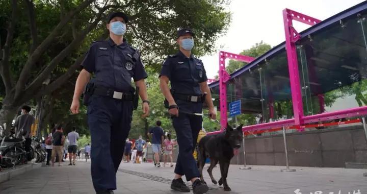 过一个安全祥和的中秋佳节!番禺警方加强人员密集场所的巡逻防控和定点执勤