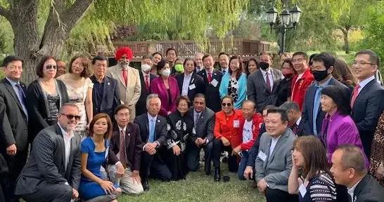 美国亚太裔公共事务协会20周年庆典 冠盖云集