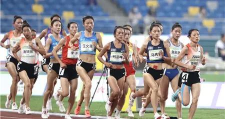 恭喜!云南选手张德顺摘得全运会女子5000米银牌