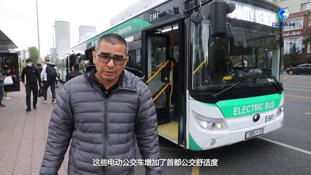 """中国客车制造企业为哈萨克斯坦民众生活增添""""亮色"""""""