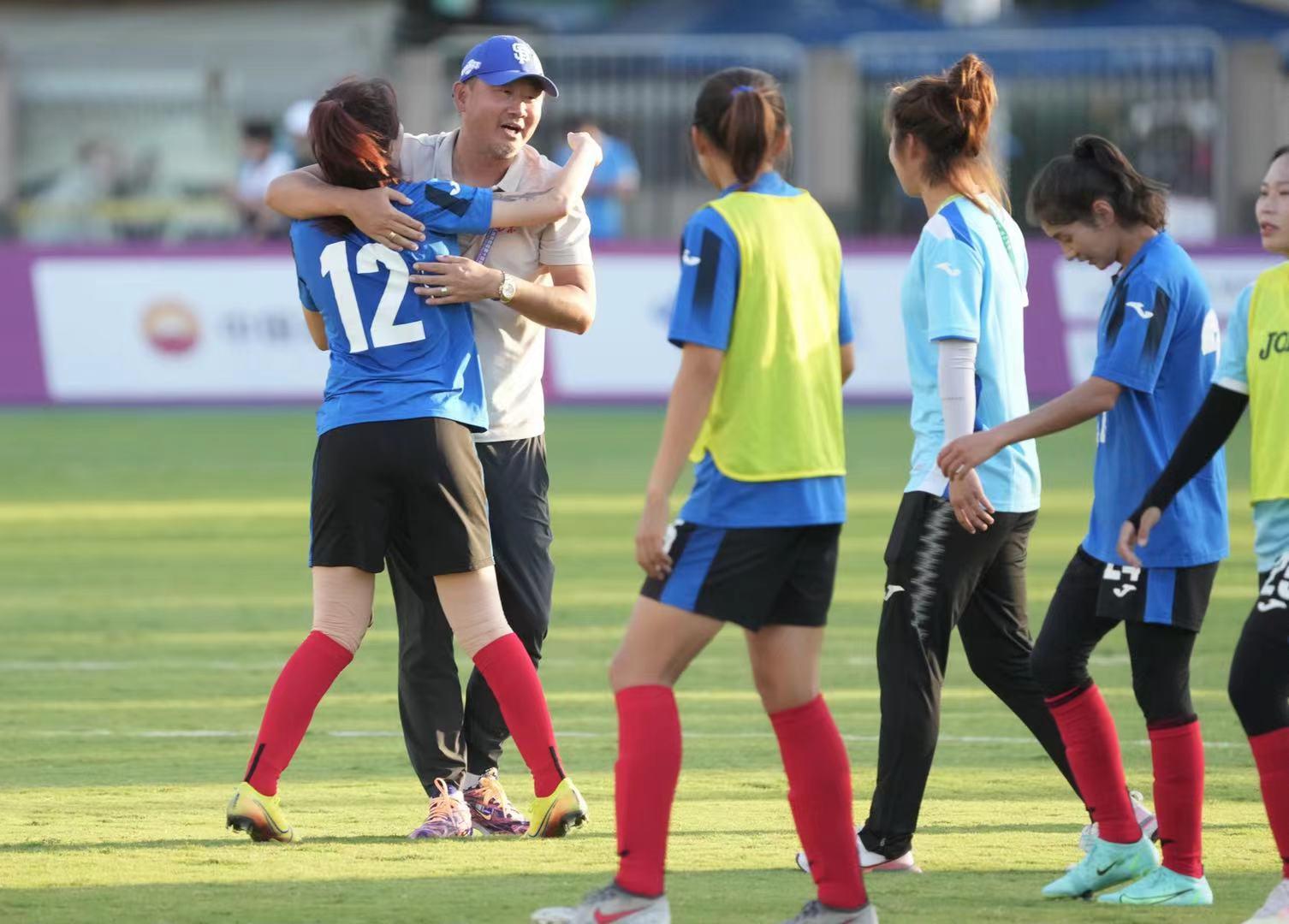 挑战联合队 北京女足做好准备