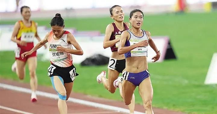 甘肃代表队收获本届全运会第2金 我省名将张新艳女子5000米夺冠