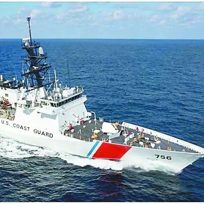 """美海岸警卫队扩充舰艇 要搞""""第二海军""""维护霸权?"""