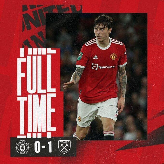 联赛杯-曼联0-1西汉姆,兰奇尼破门淘汰红魔