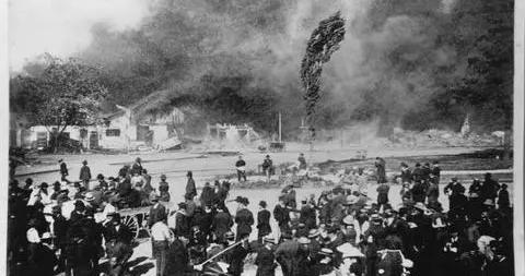 美国一城将为排华道歉:曾纵火中国城 1400人流离失所