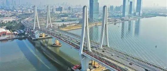 年底双向10车道通车!洛溪大桥计划2个月内完成声屏障安装
