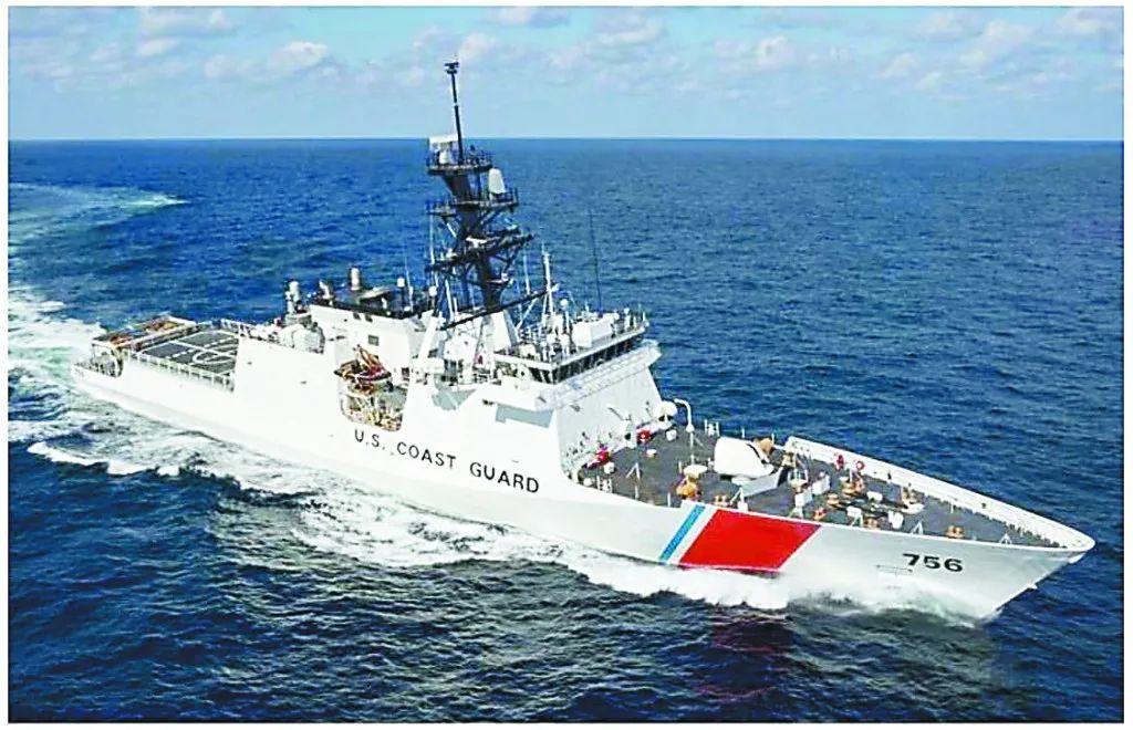 """美海岸警衛隊擴充艦艇 要搞""""第二海軍""""維護霸權?"""