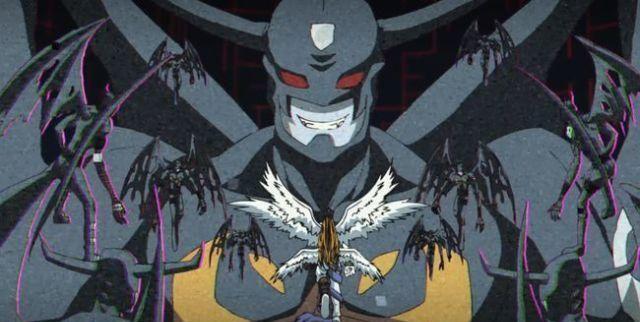 数码宝贝:恶魔兽竟救了究极天使兽一命,原来他们宿命中的伙伴