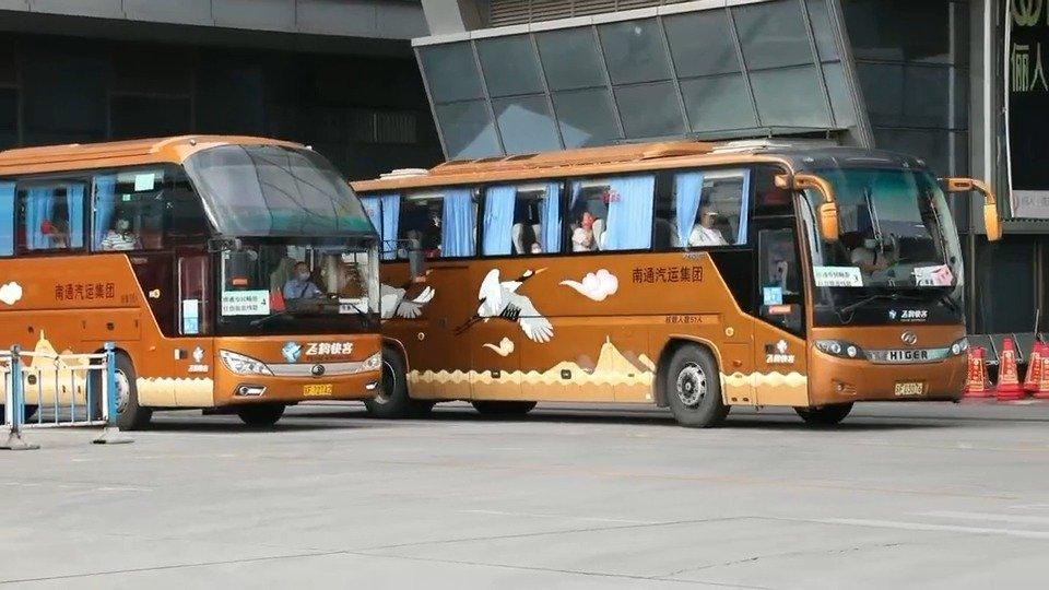 南通市民畅游红色旅游线路发车仪式启动,5条红色旅游线路发布!