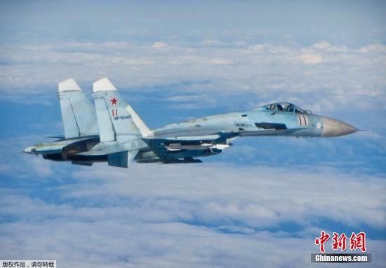 关系紧张?美军机接近俄领空 俄战机紧急升空拦截