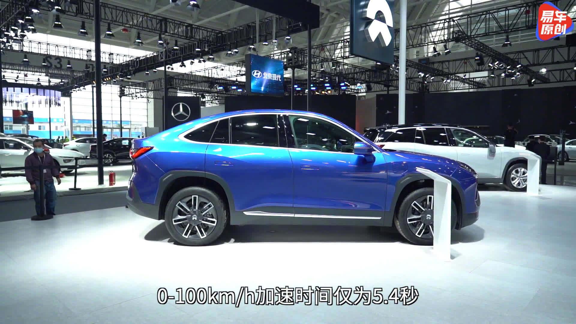 视频:2021天津车展,体验蔚来EC6