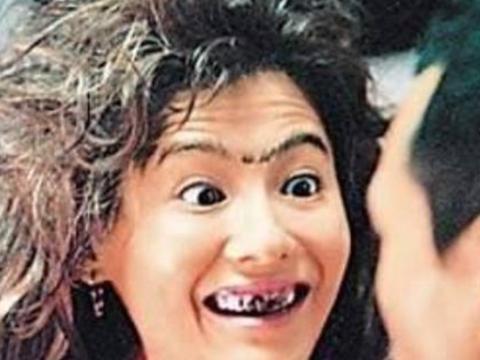 明星们花钱也删除不了的照片,杨幂:我扮起丑来,比村姑还土!