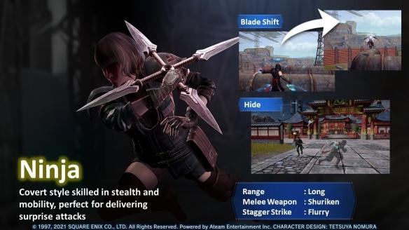 TGS21:《最终幻想7 The First Soldier》新实机演示