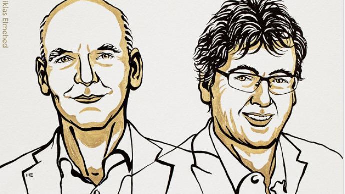 德美两学者共享诺贝尔化学奖