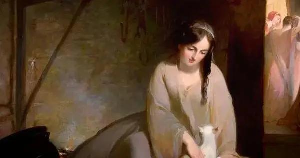 美国画家托马斯·萨利的油画作品风格雅致,浪漫热情,色彩简练
