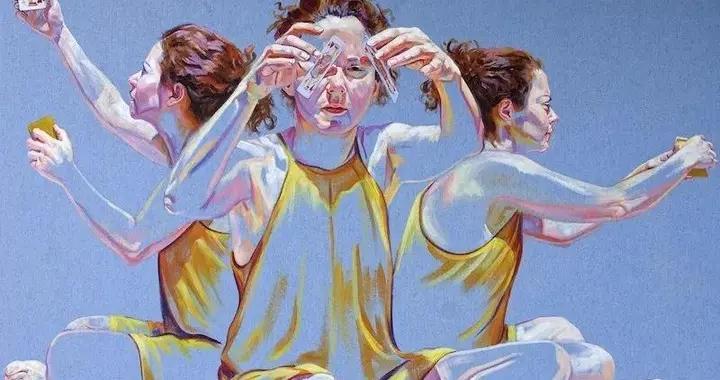 巧妙的留白、繁与简的对比~画家克里斯蒂娜·特鲁法绘画作品欣赏